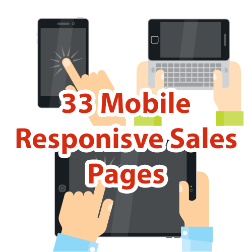 33 Mobile Responsive Sales Pages